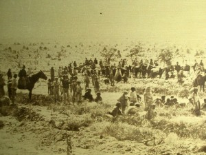 Navajos at Bosque Redondo 1863-1868